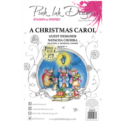 Pink Ink Designs A Christmas Carol A5 Clear Stamp Se