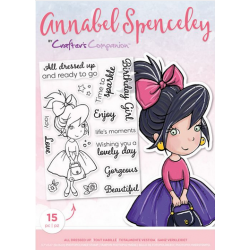 Crafters Companion-Annabel Spenceley Photopolymer Stamp - All Dressed up