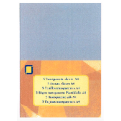 A4 Extra Thick Acetate Sheets pack of 5 250 micron