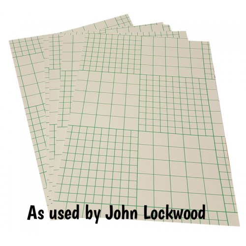 A4 Double Sided Sticky Sheets as used by John Lockwood - Pack of 5