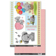 Bear Essentials Birthday Time Die-Cut Topper & Backing Sheet