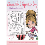 Crafters Companion-Annabel Spenceley Photopolymer Stamp - Born To Shop
