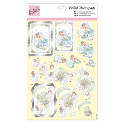 Anita's Foiled Die-Cut Decoupage - Baby Bliss