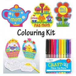 Easter / No 1 Mum Colouring Kit