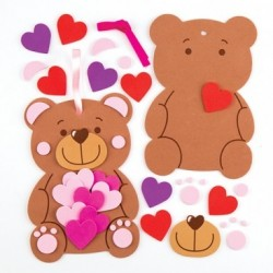 Love Bear Heart Decoration Kit