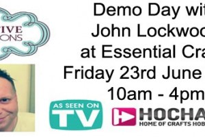 Demo Day with John Lockwood Friday 23rd June 2017