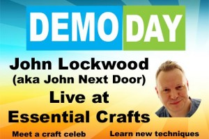 Demo Day with John Lockwood Tuesday 30th October