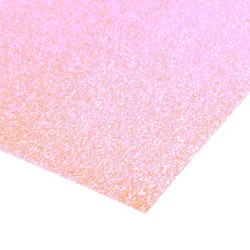 Low Shed Baby Pink Glitter Card - 1 A4 Sheet 225gsm