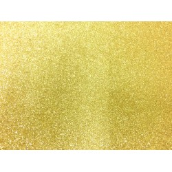 Non Shed Gold Glitter Card - 1 A4 Sheet 240gsm