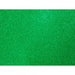 Non Shed Green Glitter Card - 1 A4 Sheet 285gsm