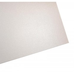 A4 Ice White D/S  Pearl Card 300gsm & Cream Floral Emboss Card 260gsm - (15 sheets)