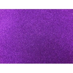 Low Shed Purple Glitter Card - 1 A4 Sheet 225gsm