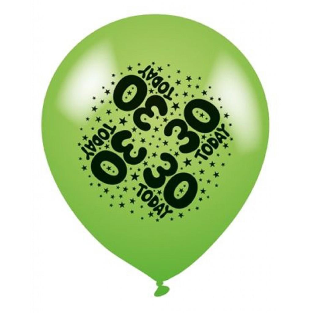 30 balloons latex