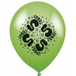 5 Today - Latex Balloons Pack of 8