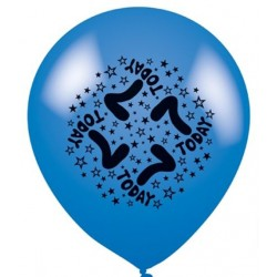 7 Today - Latex Balloons Pack of 8