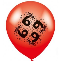 9 Today - Latex Balloons Pack of 8