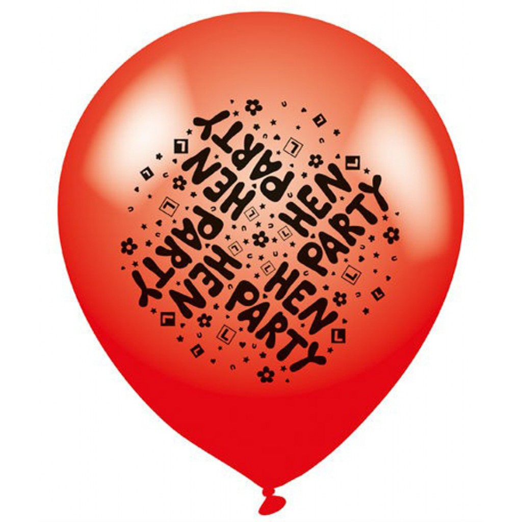 Latex Balloons Pack Of 8