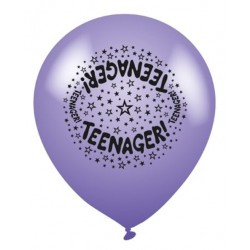 Teenager - Latex Balloons Pack of 8