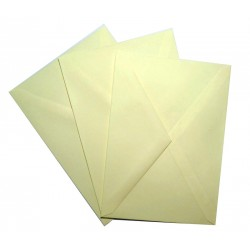 C6 Ivory Envelopes Pack of 25