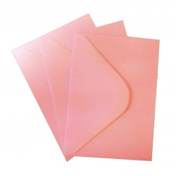 C6 Baby Pink Envelopes Pack of 25