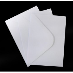 C6 White Envelopes Pack of 25