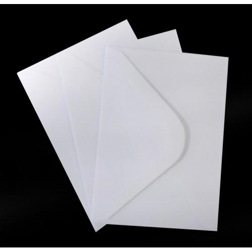 C6 White Envelopes Pack of 25