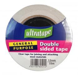 Ultratape Double Sided Tape 12mm x 33m