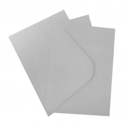 C5 Light Silver Envelopes Pack of 10