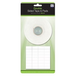 Double Sided Tape & Pads (green Pack)