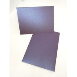 A6 Purple Cards and Envelopes