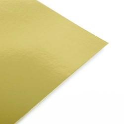 A4 Gold Mirror Card 240gsm Single Sheet