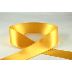 Gold Satin Ribbon - 3mm x 1m