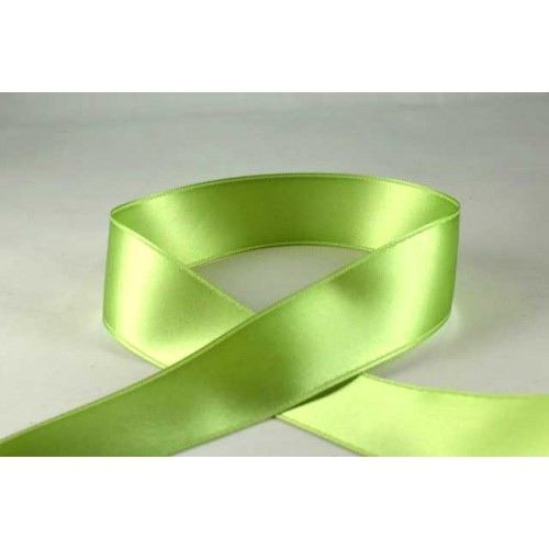 Pale Green Satin Ribbon - 3mm x 1m