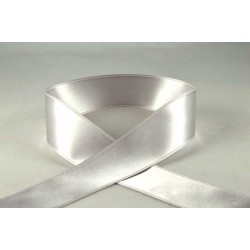 Light Silver Satin Ribbon - 3mm x 1m
