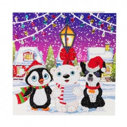 Crystal Card Kit - Carol Singers