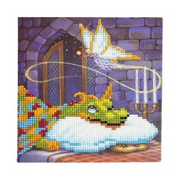 Crystal Card Kit - Dragon and The Cookie Fairy