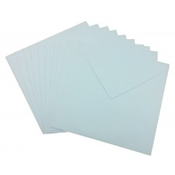 7 x 7 White Envelopes Pack of 10