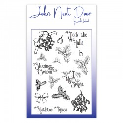 John Next Door Stamps - Deck The Halls