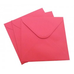6 x 6 Red Envelopes Pack of 20