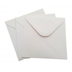 6 x 6 White Envelopes Pack of 20