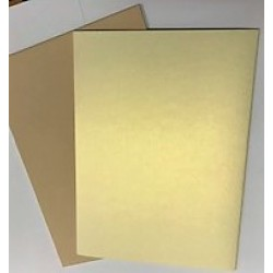 Dark Ice Pearl & Plain Taupe Coloured Card A4 15 Sheet Pack 300gsm