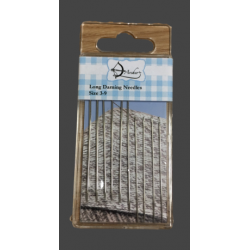 Long Darning Needles Size 3-9 pack of 10