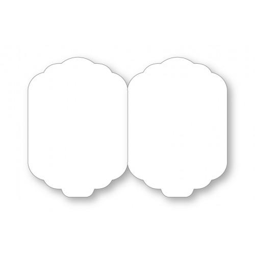 C6 White Elegant Card Blanks And Envelopes Pack of 10