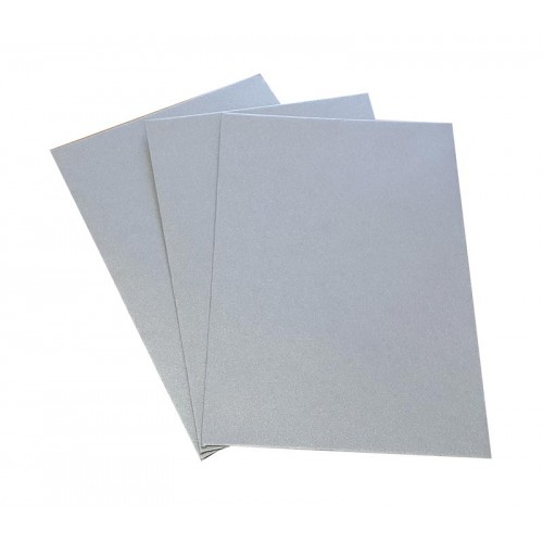 C6 Silver Shimmer Envelopes Pack of 20