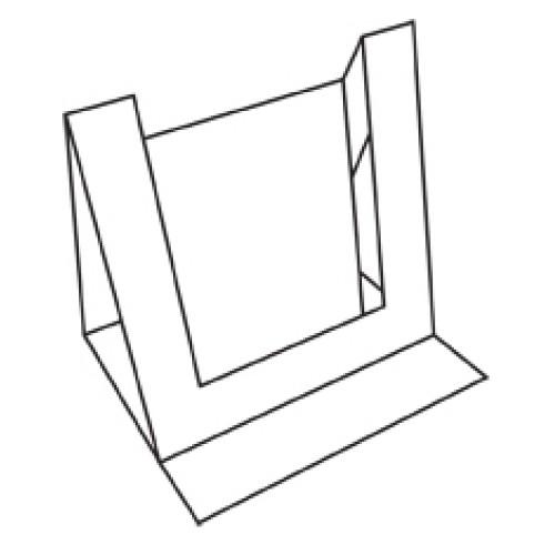 8 x 8 White Inner Dimension Card Blanks And Envelopes Pack of 5