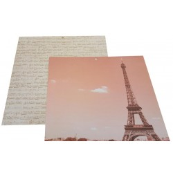12 x 12 Meet Me In Paris DS Backing Paper - Eiffel Tower