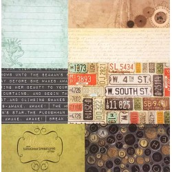 12 x 12 Treasures Speciality Backing Paper - 9