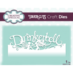 Creative Expressions Paper Cuts Edger Drinkerbell Craft Die