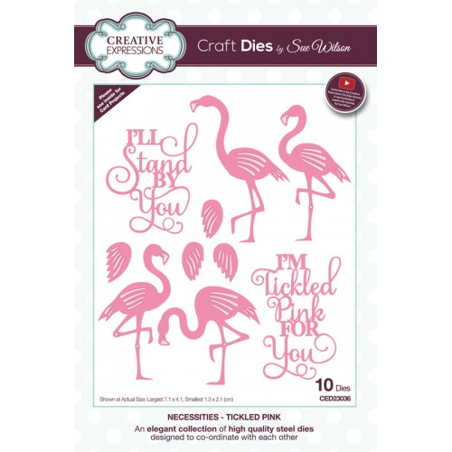 Craft Dies by Sue Wilson - Necessities Tickled Pink Craft Die