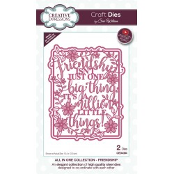Craft Dies by Sue Wilson - All in One Friendship Craft Die